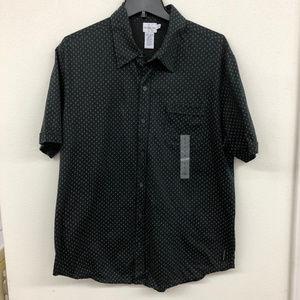 Calvin Klein Casual Black Shirt NWT
